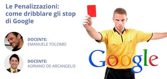 Webinar Penalizzazioni Google