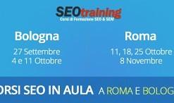 corsi seo in aula Bologna e Roma