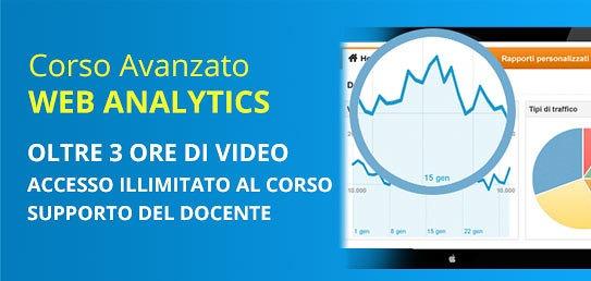 Corso Avanzato di Web Analytics