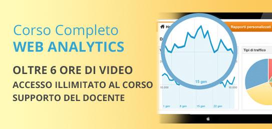 Corso Completo di Web Analytics