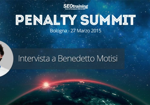 Intervista penalty a Benedetto Motisi