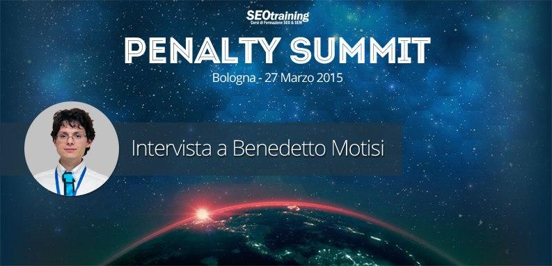 Intervista penalty a Benedetto Motisi