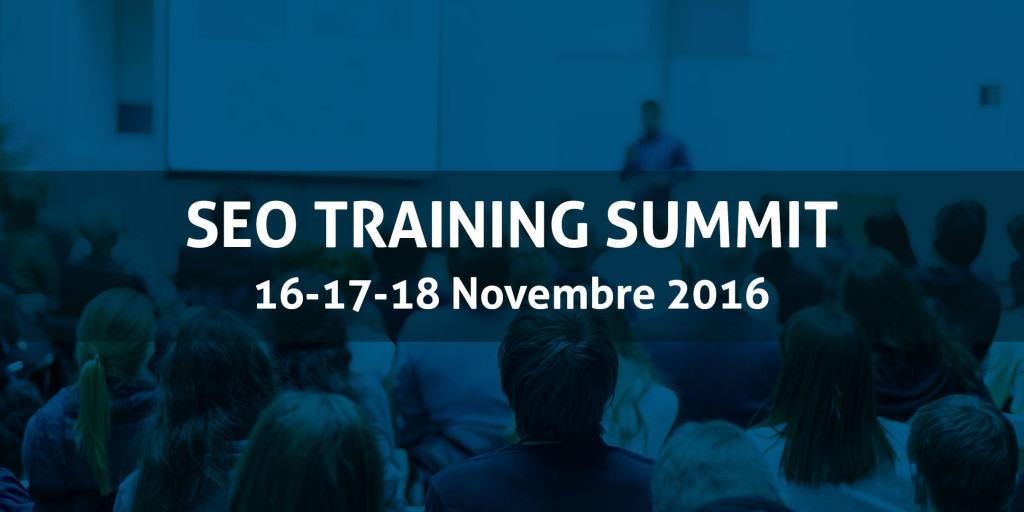 seo training summit 2016
