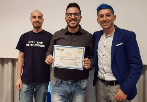 Master Seo 2017 Pasquale Mastromattei
