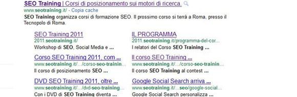google-sitelink